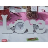 Sweets buffet table Mansfield. Welcome sign for wedding guests