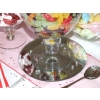 Mirrored base table centrepiece option for your sweets and candy buffet table