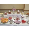 Candy buffet Doncaster, centre of a 12' long table