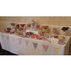 Wedding Sweets cart Chesterfield? A sweet candy buffet table has much more choice and variety with loads more sweets to share with your guests.