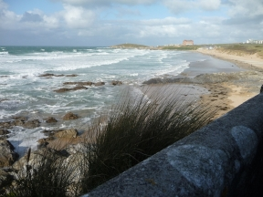Fistral surfing beach 