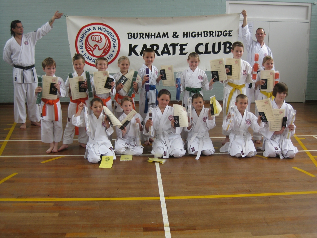 Juniors who passed their grading - 24th July 2011