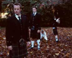 Hunting Stewart Tartan Kilts.