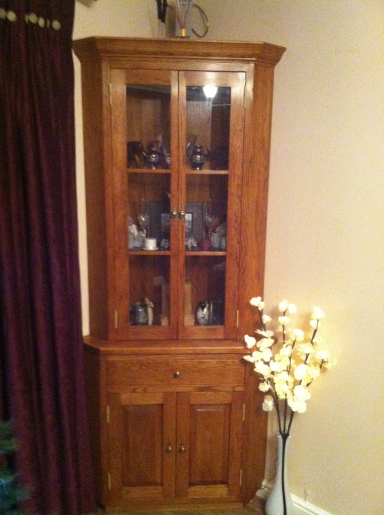 Tall Corner Cabinets Furniture: Made To Measure, Handmade Cabinets