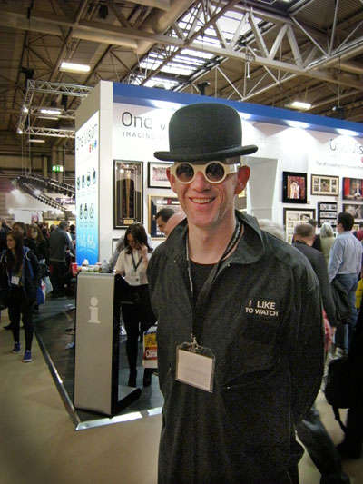 British fashion photographer Perou, at Focus on Imaging at the NEC, Birmingham, on Sunday 3rd March 2013.