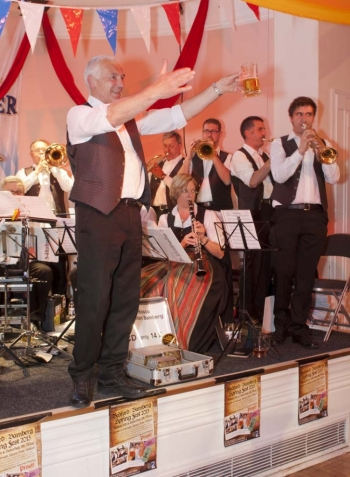 Don Bosco Musikanten band, at the Bedford:Bamberg Spring Fest, May 10th 2013.