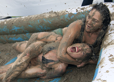 For Mud porn girls wrestling absolutely