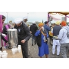 Feeding the followers. Vaisakhi, Birmingham, 27 April 2014
