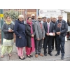 The committee of Shri Guru Ravidass Bhawan. Vaisakhi, Birmingham, 27 April 2014