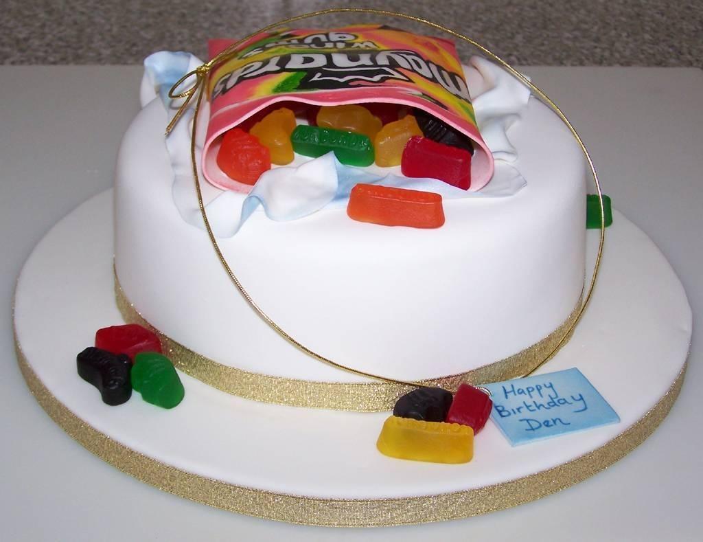 Wine Gum Birthday Cake