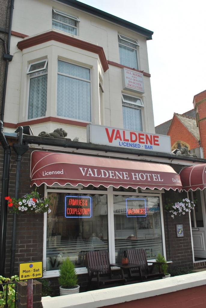 The Valdene Hotel, Cocker Street, Blackpool