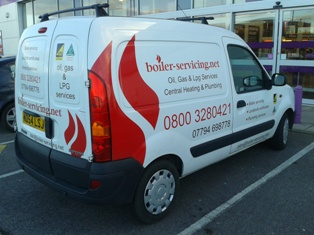 Oil, gas &amp; LPG boiler servicing in South &amp; West Yorkshire