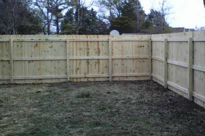 New Garden Fences