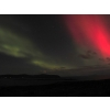 Aurora borealis over Waternish