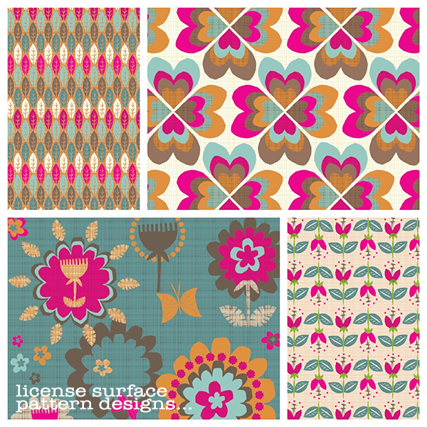 license surface pattern designs