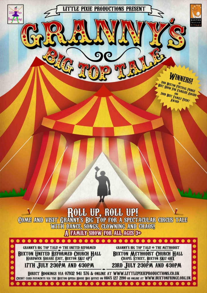 Granny's Big Top Tale image