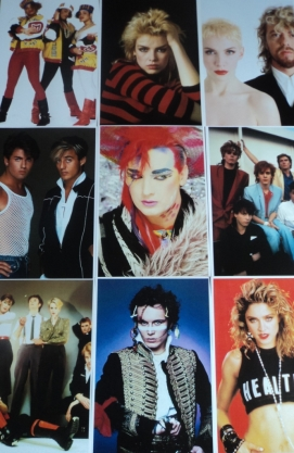 10 80s Pop Star and Bands Posters &pound;5.00