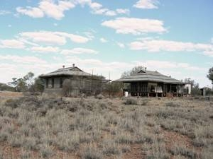 Old Mundiwindi Telegraph Station, distant view