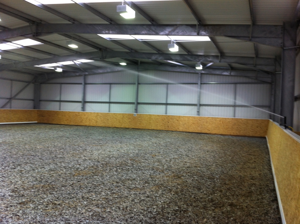 Dust Suppression kits for indoor and outdoor equestrian facilities