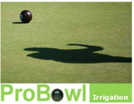 Bowls green irrigation kits