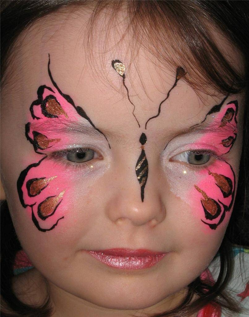 Pink butterfly pink butterfly for Face painting business
