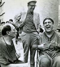 Buster Keaton, Phil & Zero Mostel