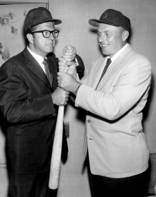 Phil Silvers and Steve Bilko
