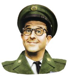 Phil Silvers as Sgt.Bilko
