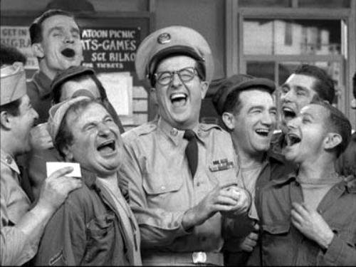 Cast of The Phil Silvers Show