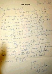 Phil's letter