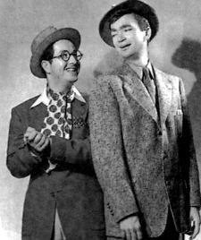 Phil Silvers & Buddy Ebsen in Yokel Boy