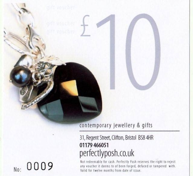  &pound;10 Gift Voucher