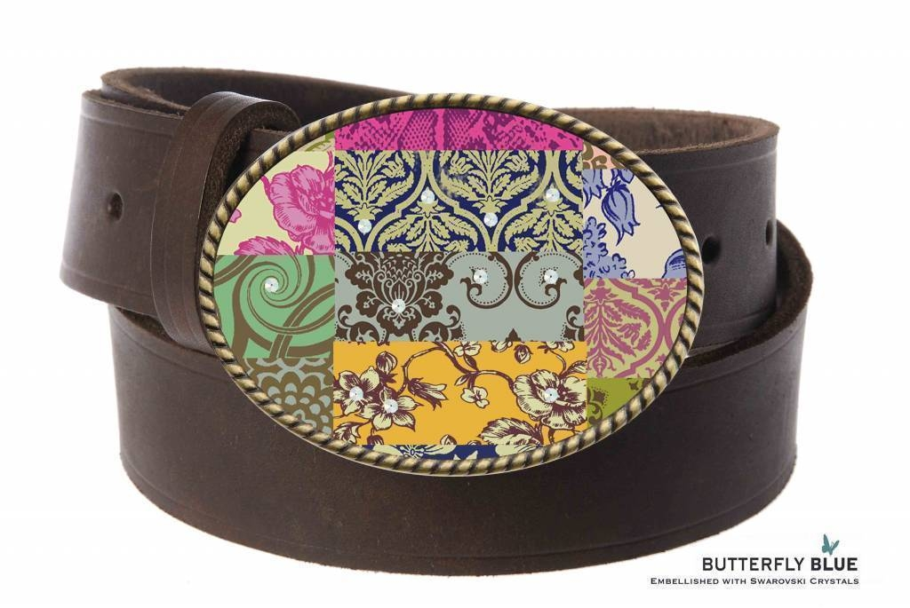 Butterfly Blue Belt