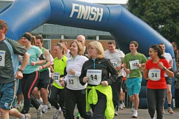 Start of the 2011 Selsdon Half Marathon
