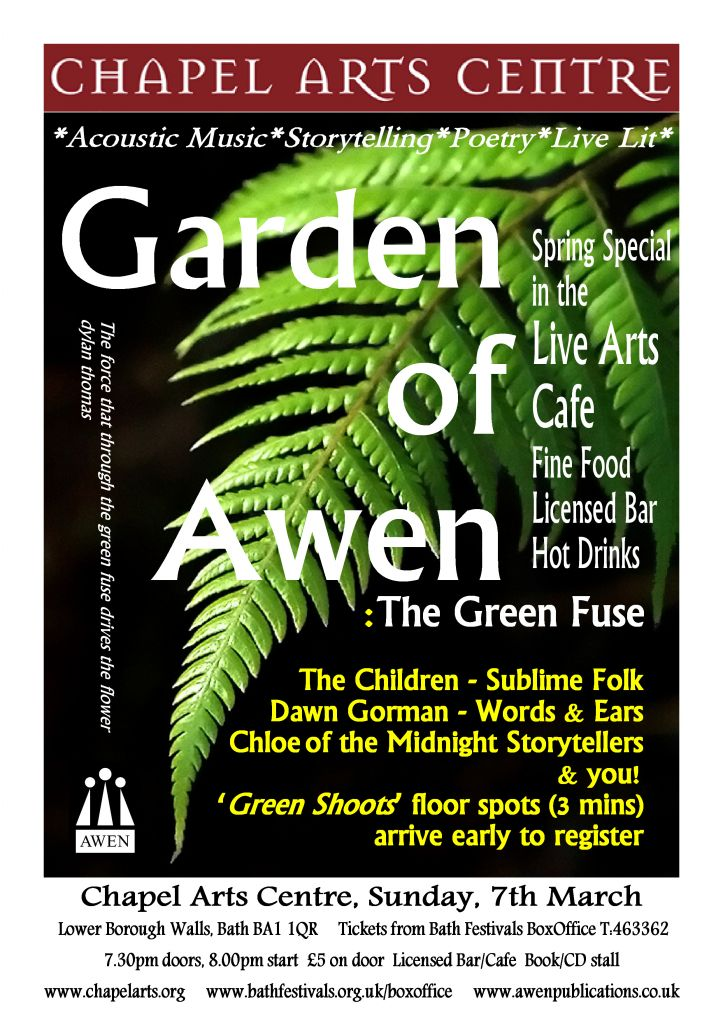 Garden of Awen: The Green Fuse