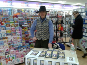 Kevan launches Oxfordshire Folk Tales, WHSmith, Oxford, Jan 26 2013