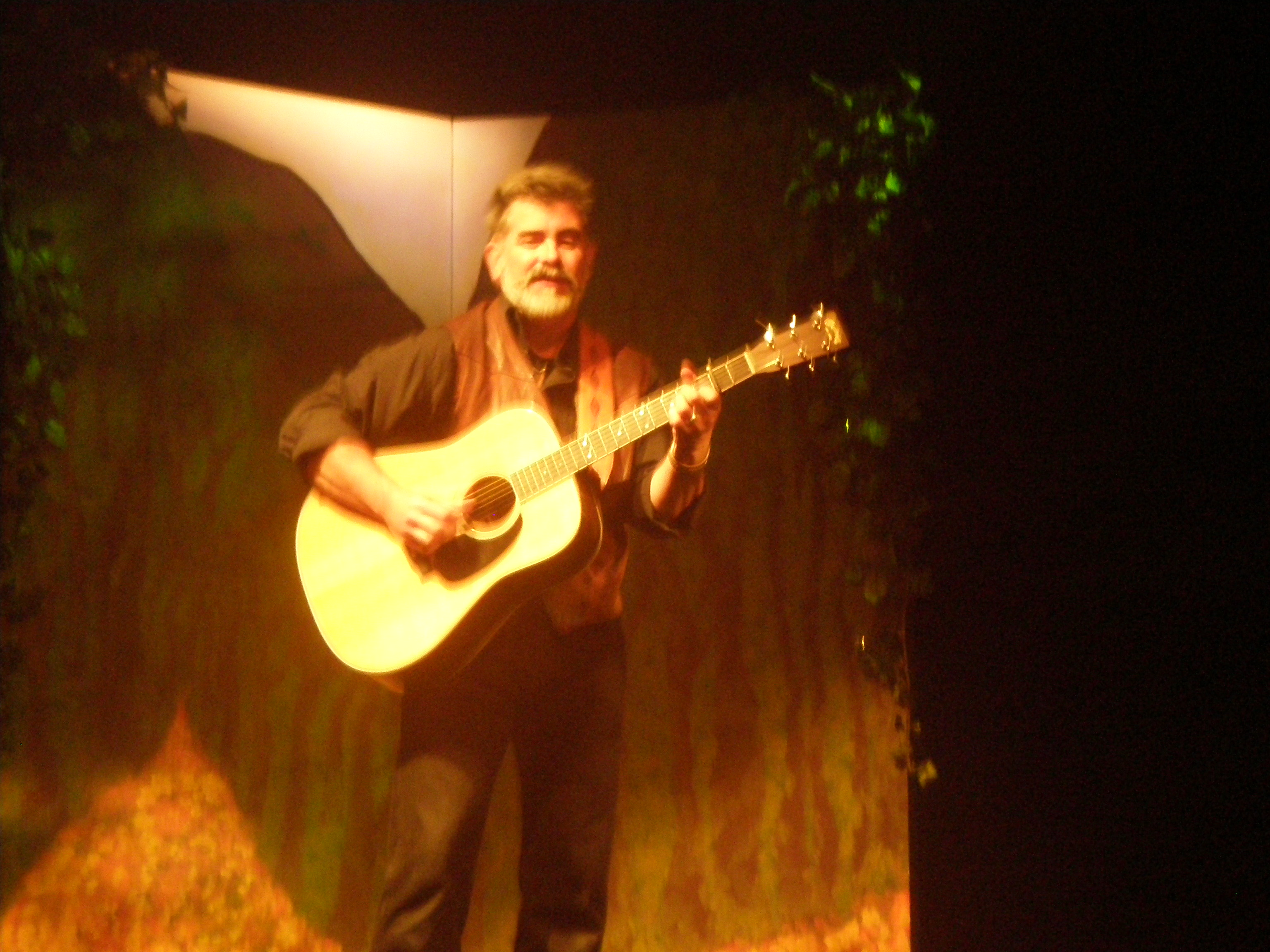 David Metcalfe at Garden of Awen