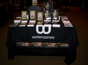 Book Launch, Waterstones, Bath