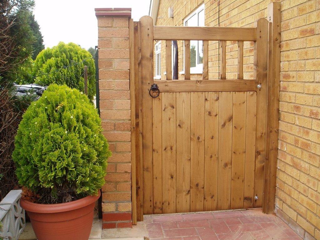 Wooden doors wooden doors norfolk for Garden door designs