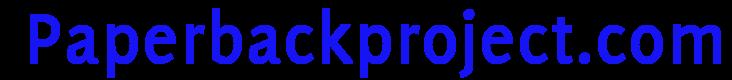 paperbackproject.com Logo