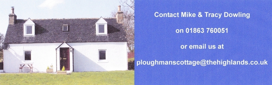 ploughmanscottage.thehighlands.co.uk Logo