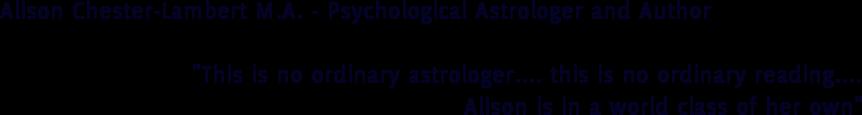 alisonchesterlambert.com Logo