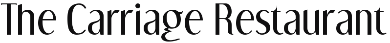 thecarriagerestaurant.co.uk Logo